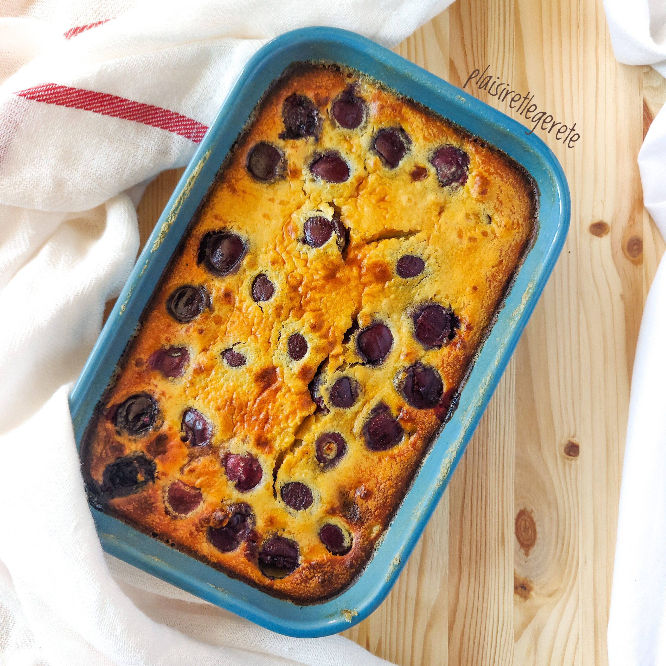 You are currently viewing Clafoutis aux cerises