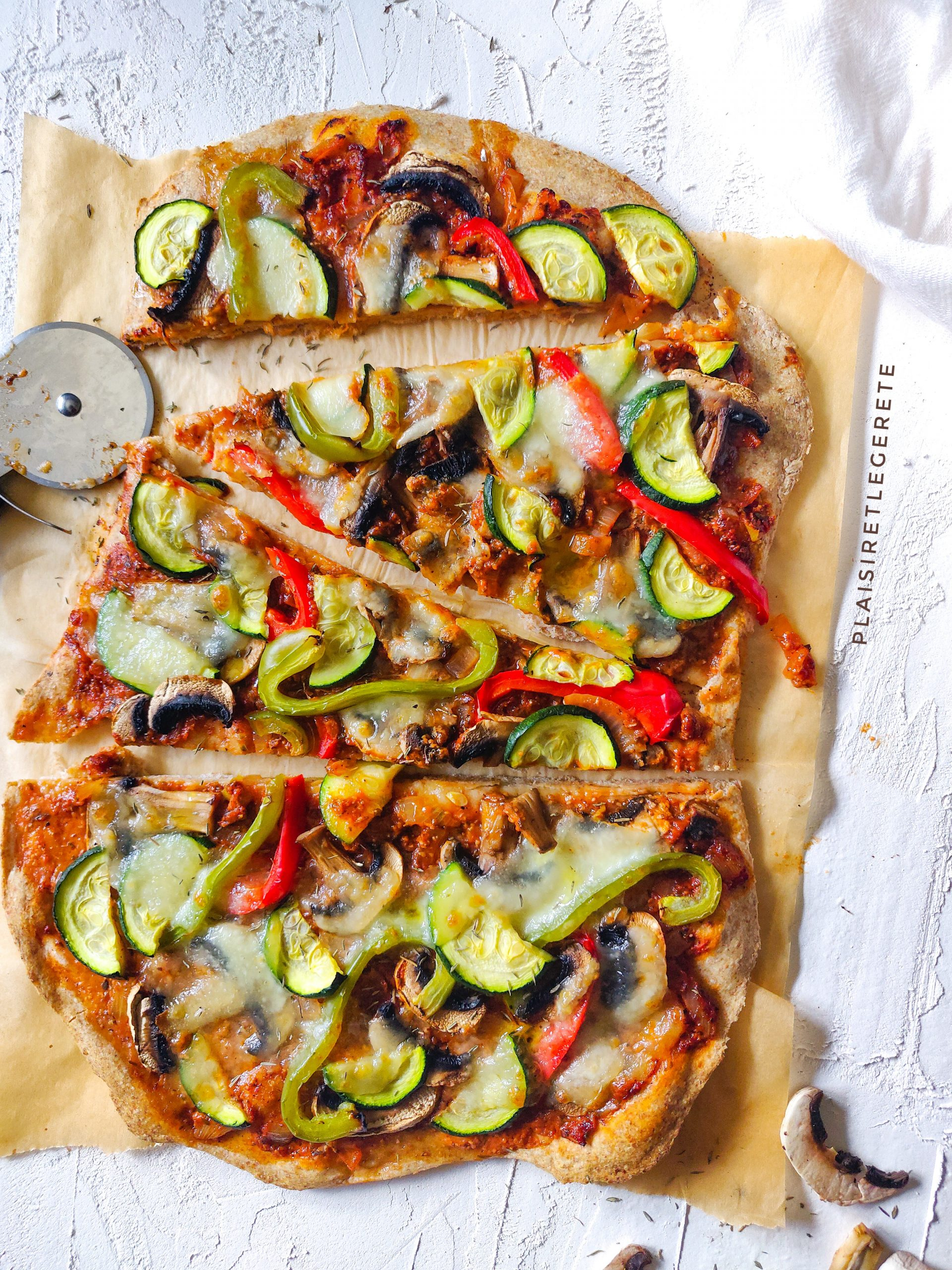Read more about the article Pizza aux légumes du soleil