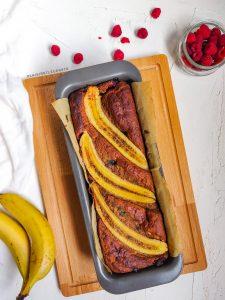 Read more about the article Banana bread à la framboise