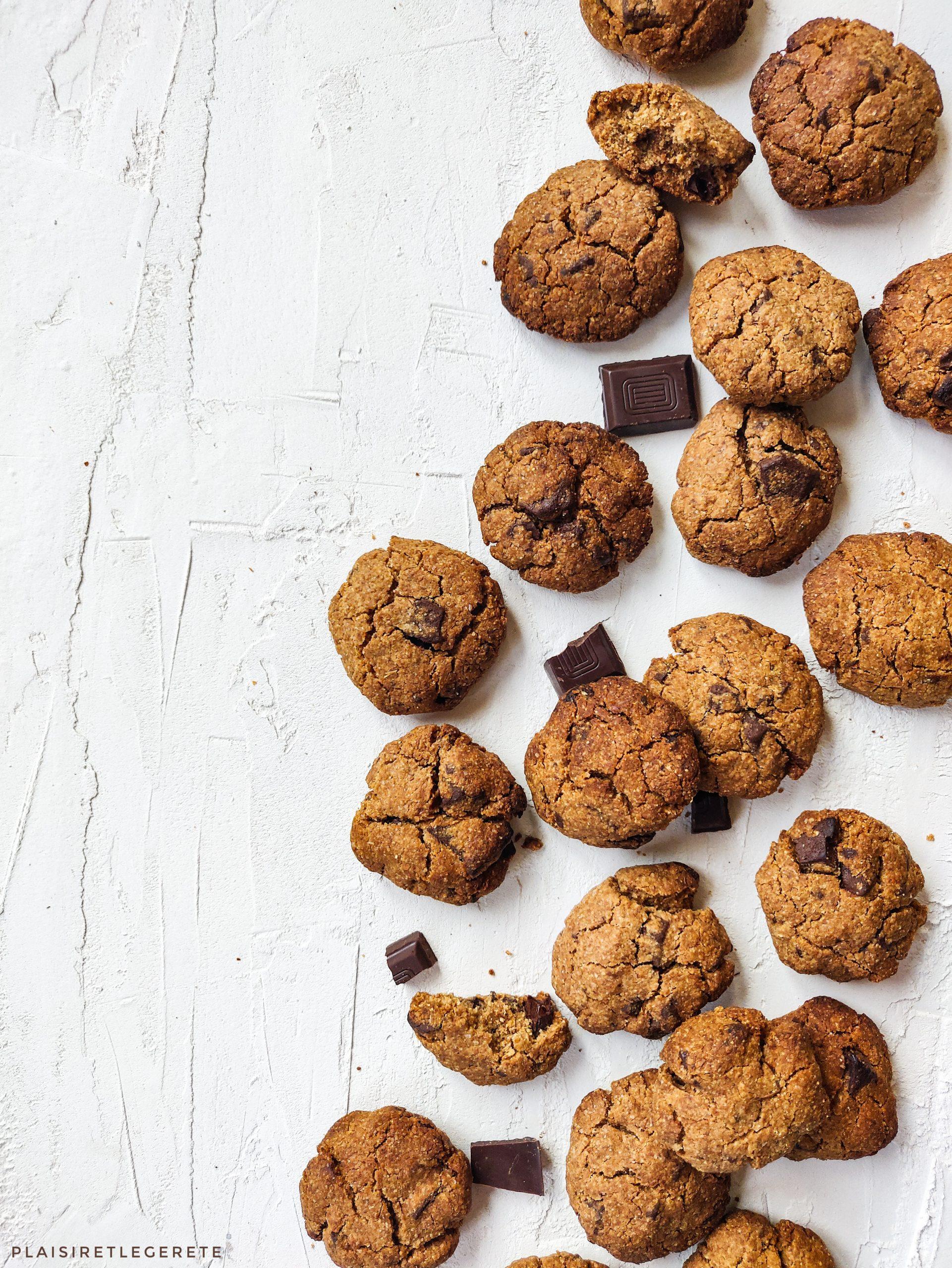 You are currently viewing Cookies au beurre de cacahuète et au chocolat