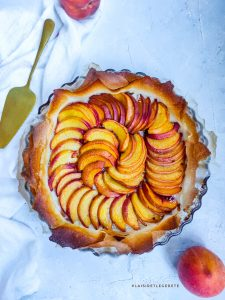 Read more about the article Tarte fine aux pêches