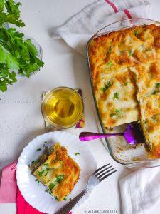 Read more about the article Lasagnes aux champignons et courge butternut