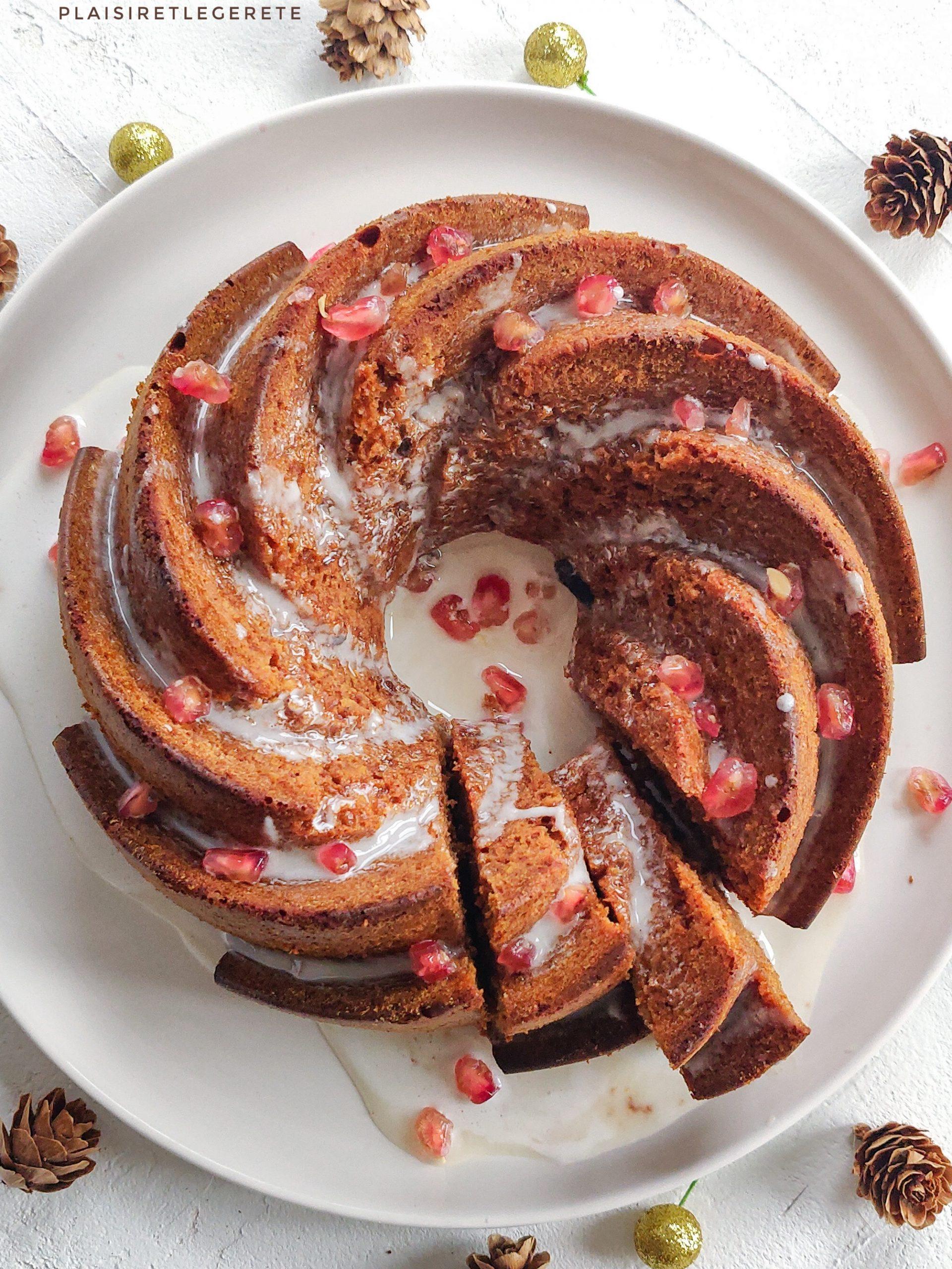 You are currently viewing Bundt cake aux épices de Noël