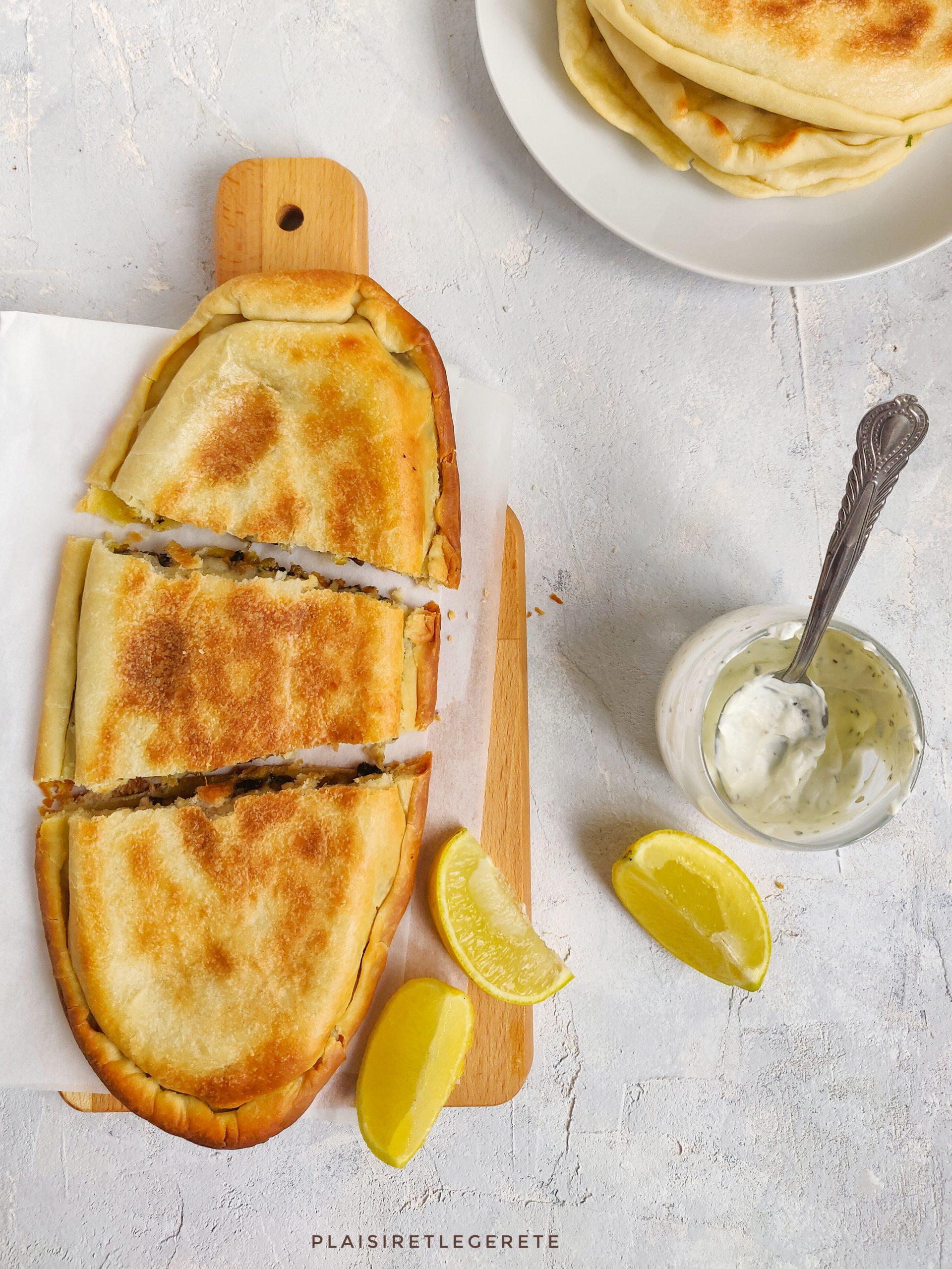 Read more about the article Galettes turques farcies aux champignons et à la courge