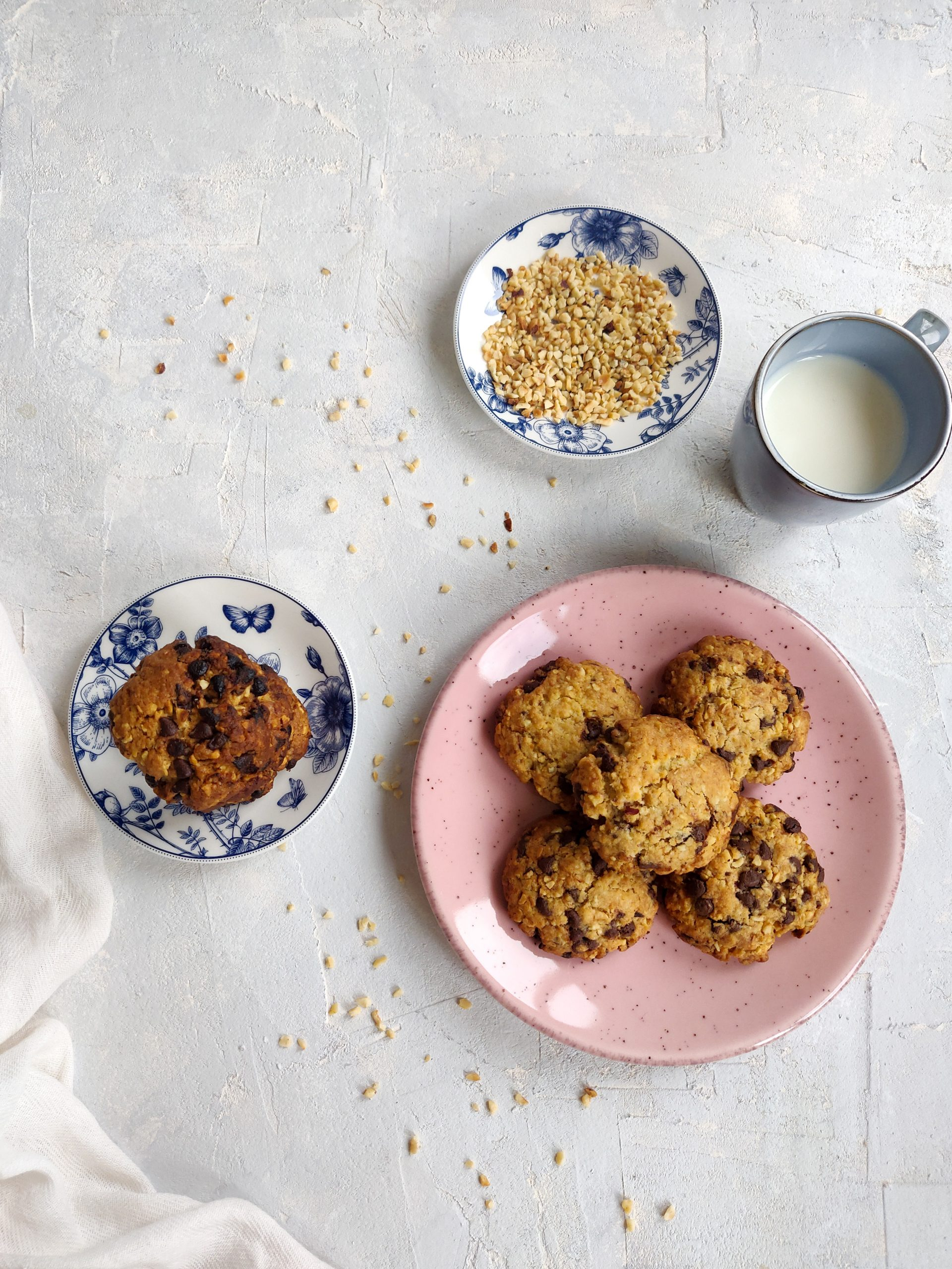 Read more about the article Cookies noisettes et chocolat