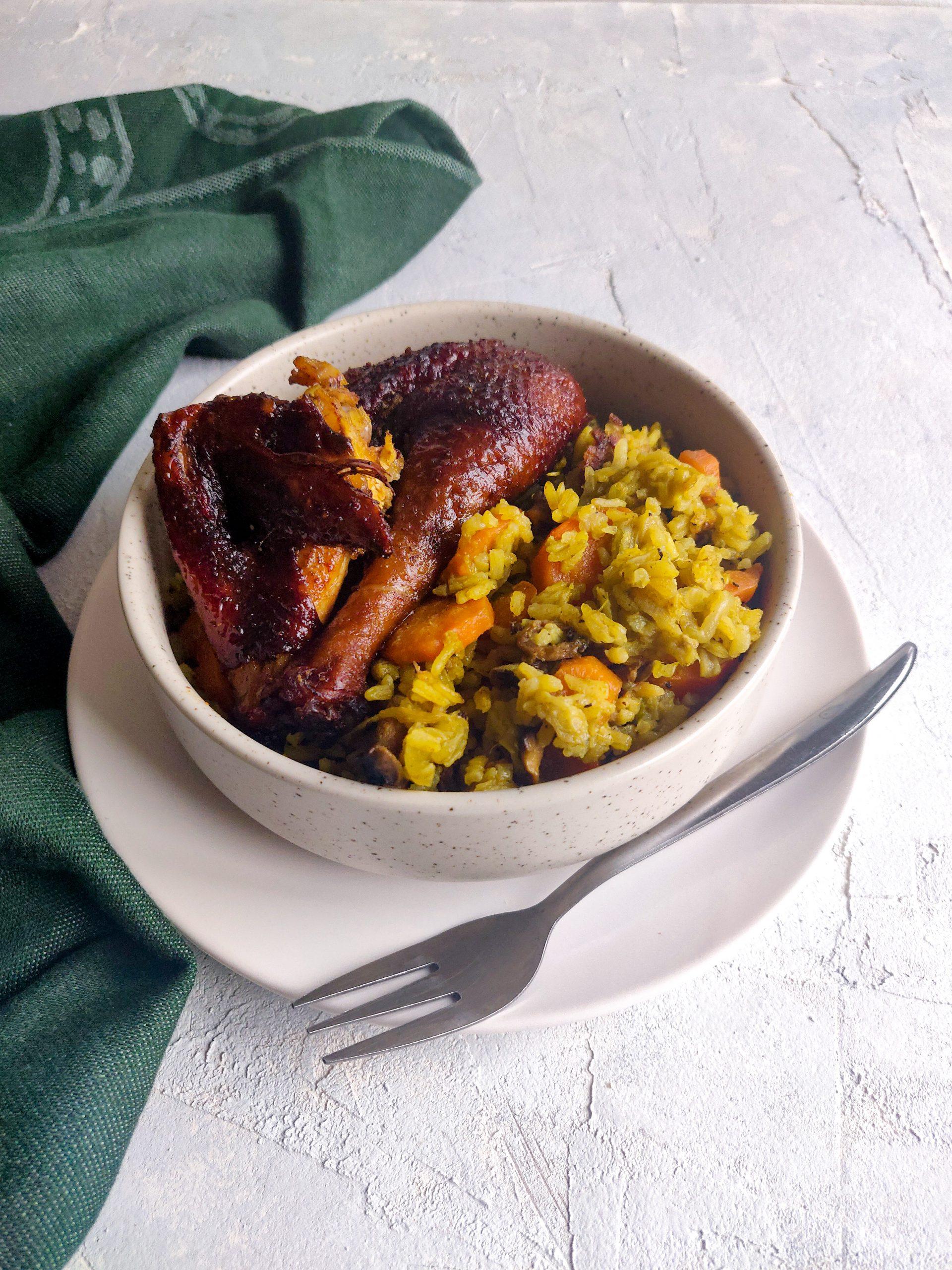 Read more about the article Riz au curry et aux légumes