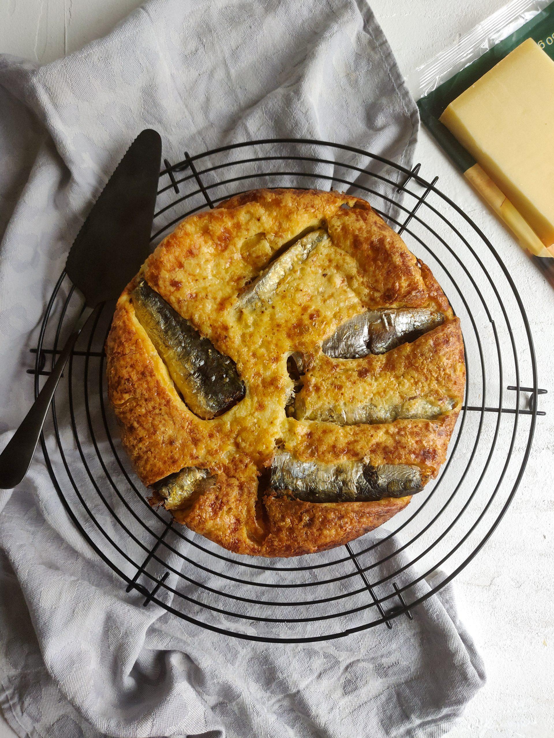 Read more about the article Quiche (sans pâte) à la sardine