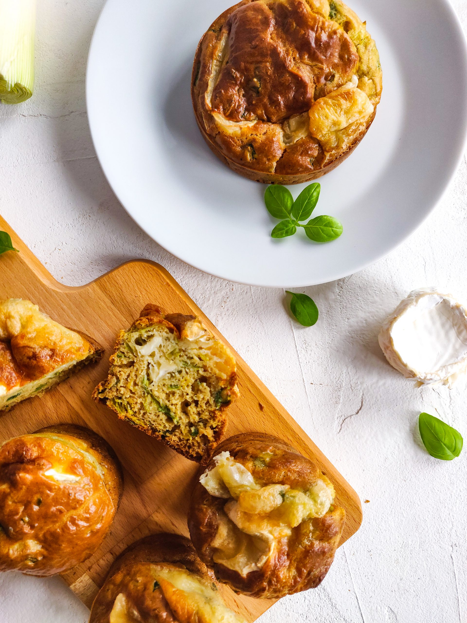 Read more about the article Muffins poireau et chèvre