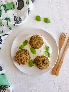 Read more about the article Champignons farcis au quinoa