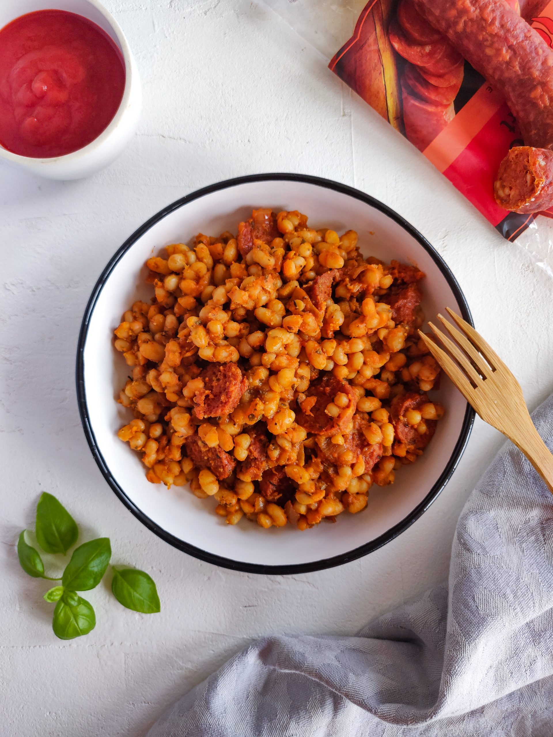 Read more about the article Haricots blancs tomate et chorizo