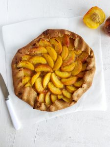 Read more about the article Tarte rustique aux nectarines