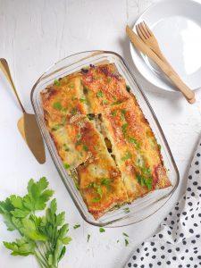 Read more about the article Lasagnes aux champignons et pesto