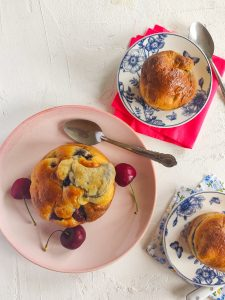 Read more about the article Muffins aux cerises 🍒