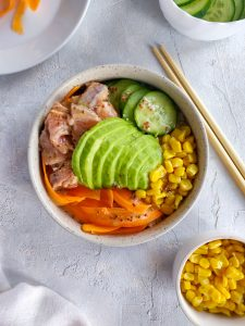 Read more about the article Pokebowl au saumon
