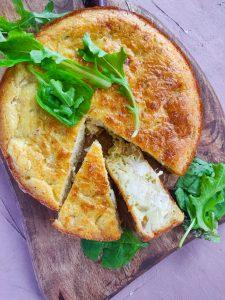 Read more about the article Quiche sans pâte au tofu fumé