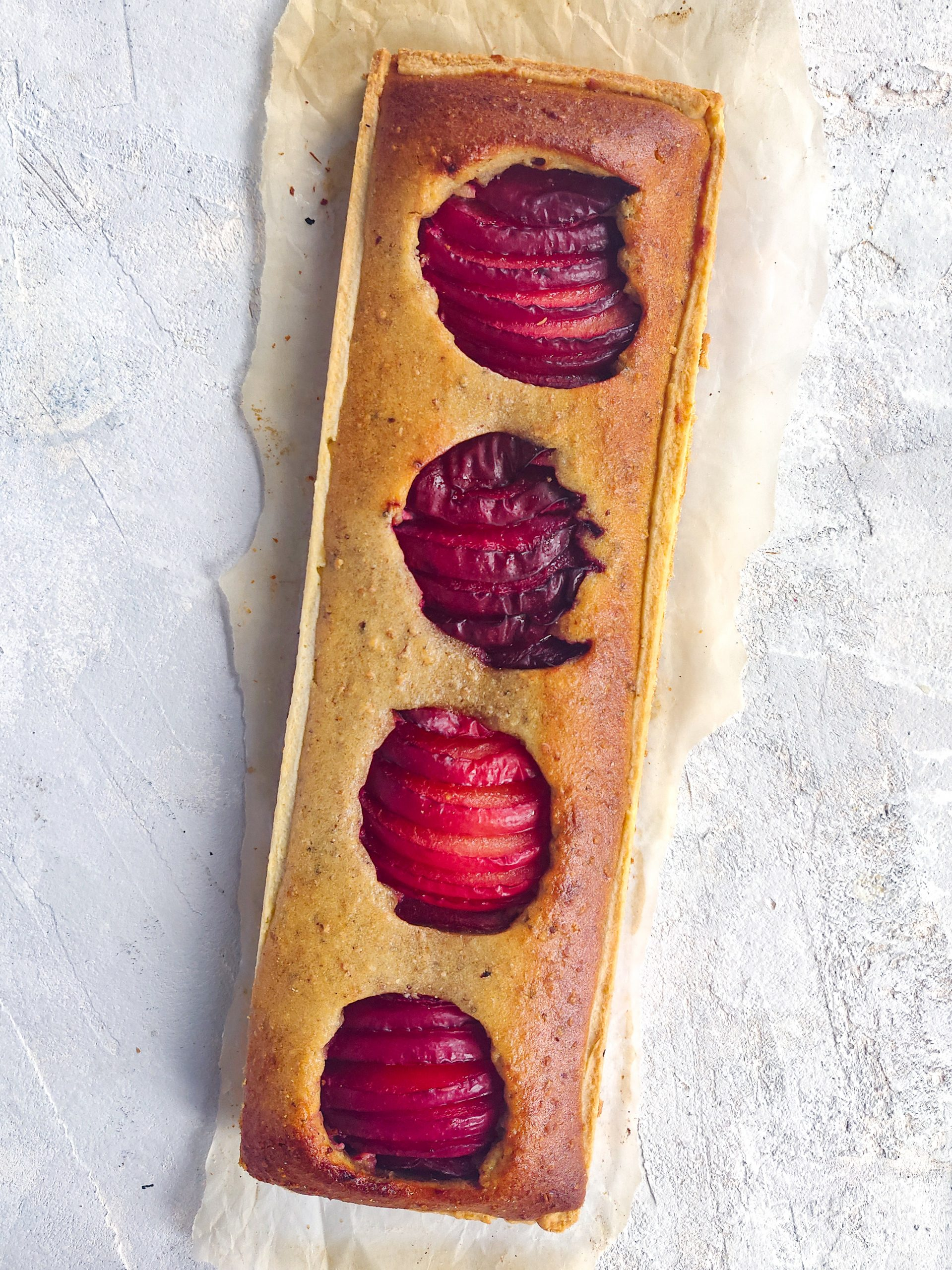 Read more about the article Tarte aux prunes rouges