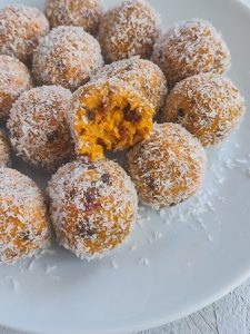 Read more about the article Balls vegan façon carrot cake