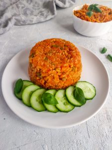 Read more about the article Jollof rice version ghanéenne